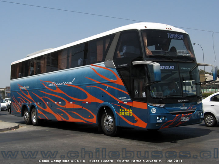 Comil Campione 4.05 HD - Scania | Buses Lucero
