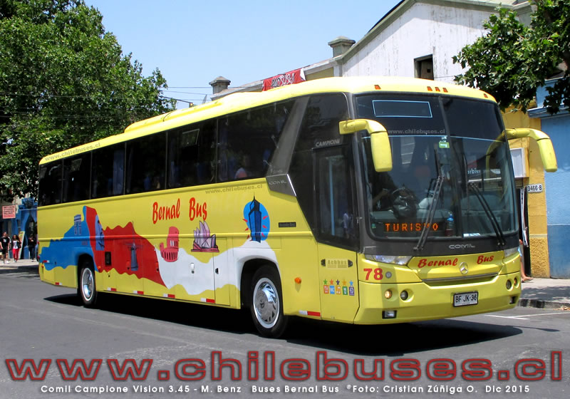 Comil Campione Vision 3.45 - M. Benz | Buses Bernal Bus