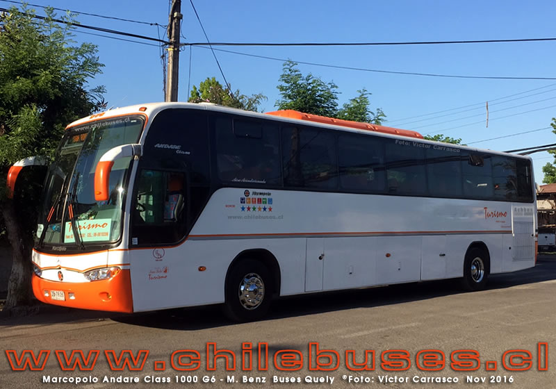 Marcopolo Andare Class 1000 G6 - M. Benz | Buses Turismo Quely