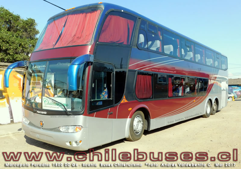 Marcopolo Paradiso 1800 DD G6 - Scania | Buses Chileturismo