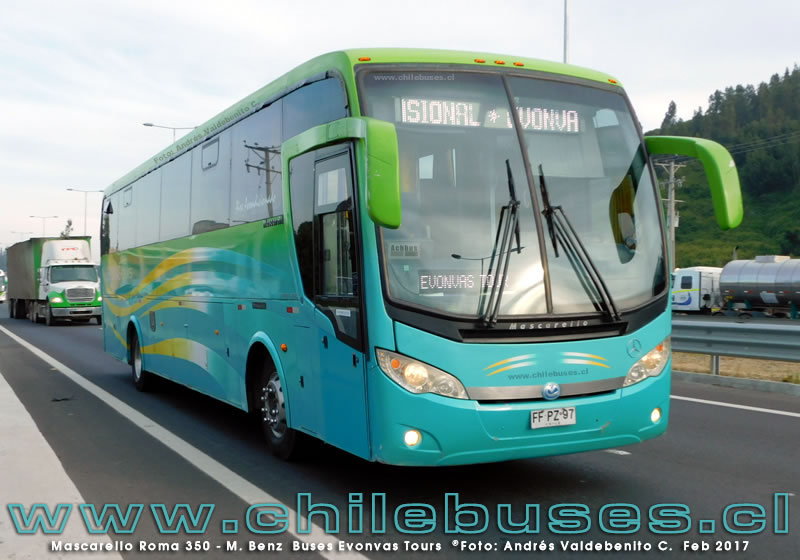Mascarello Roma 350 - M. Benz | Buses Evonvas Tours