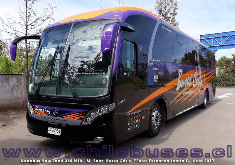 Neobus New Road 360 N10 - M. Benz | Buses Cariz