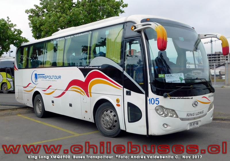 King Long XMQ6900 | Buses Transpoltour