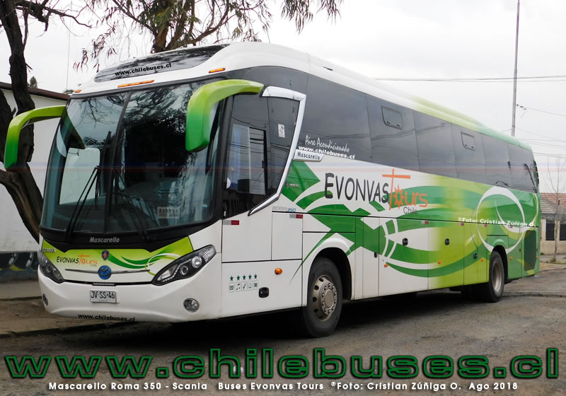 Mascarello Roma 350 - Scania | Buses Evonvas Tours