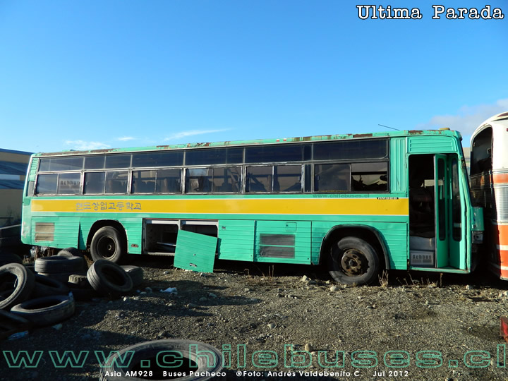 Asia AM928 | Buses Pacheco