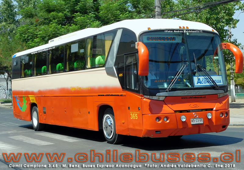 Comil Campione 3.45 - M. Benz | Buses Expreso Aconcagua