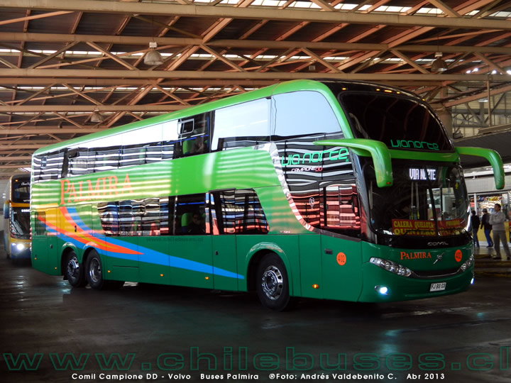 Comil Campione DD - Volvo | Buses Palmira