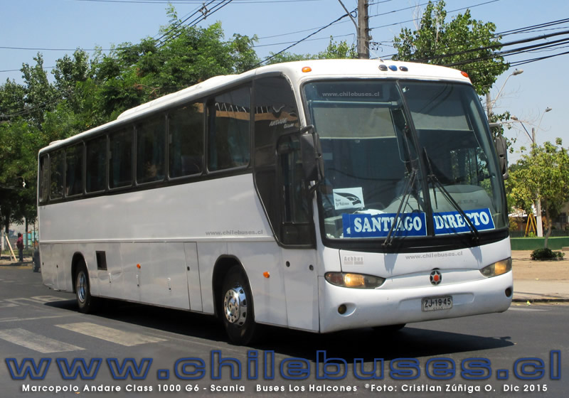 Marcopolo Andare Class 1000 G6 - Scania | Buses Los Halcones