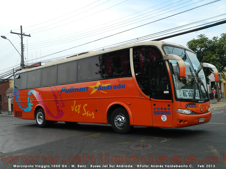 Marcopolo Viaggio 1050 G6 - M. Benz | Buses Jet Sur Andrade
