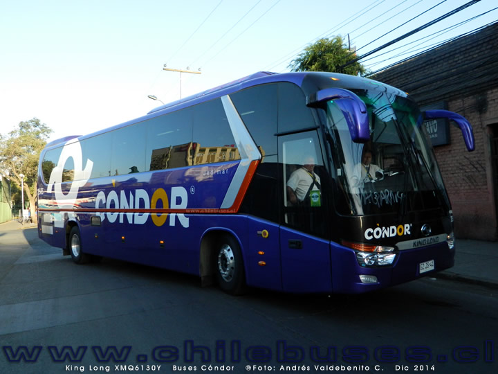 King Long XMQ6130Y | Buses Cóndor