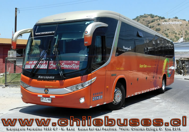 Marcopolo Paradiso 1050 G7 - M. Benz | Buses Sol del Pacifico