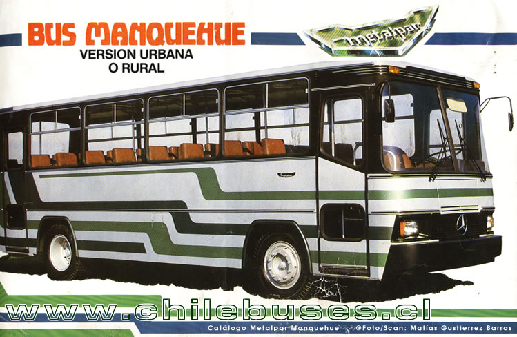 Catalogo Bus Metalpar Manquehue