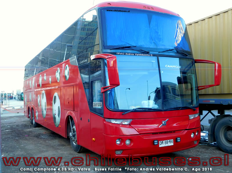 Comil Campione 4.05 HD - Volvo | Buses Fairlie