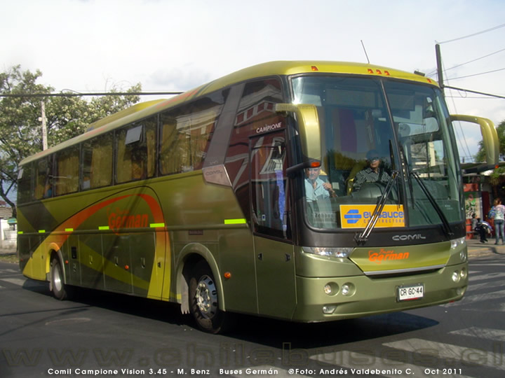 Comil Campione Vision 3.45 - M. Benz | Buses Germán