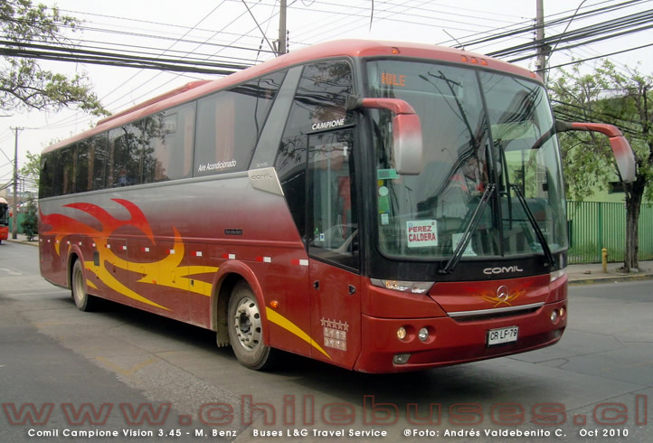 Comil Campione 3.45 Vision - M. Benz | Buses L&G Travel Service