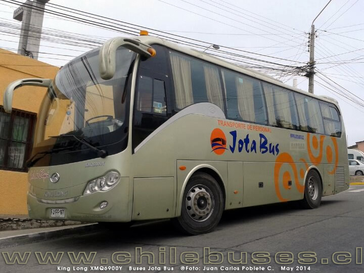 King Long XMQ6900Y | Buses Jota Bus