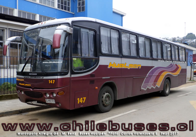 Marcopolo Allegro G6 - M. Benz | Buses Hualpen