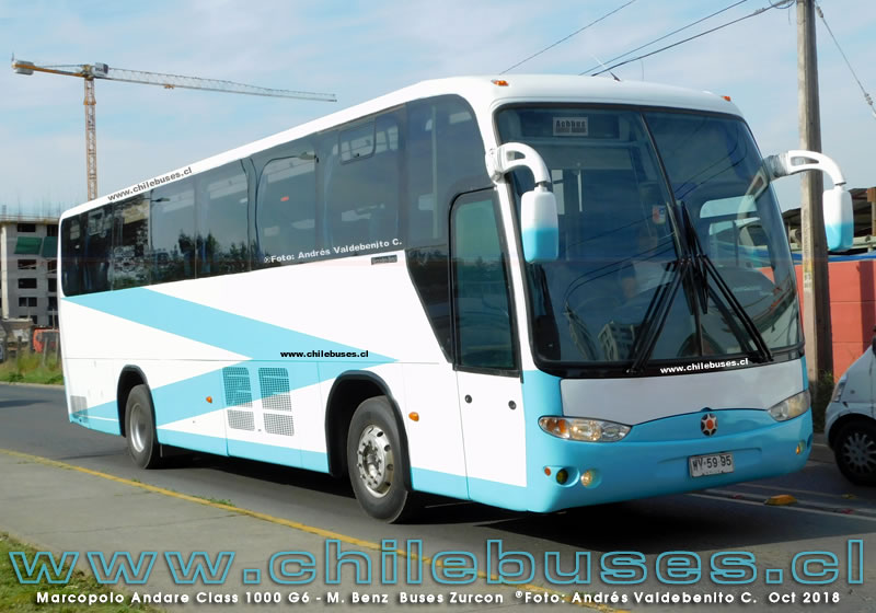 Marcopolo Andare Class 1000 G6 - M. Benz | Buses Zurcon