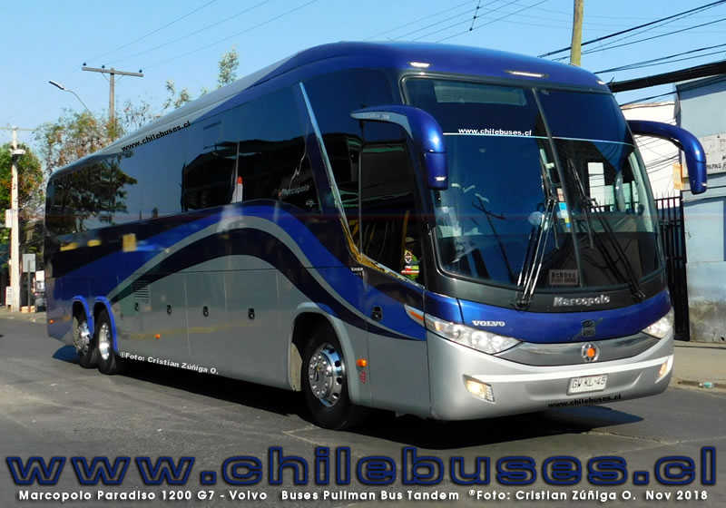 Marcopolo Paradiso 1200 G7 - Volvo | Buses Pullman Bus Tandem
