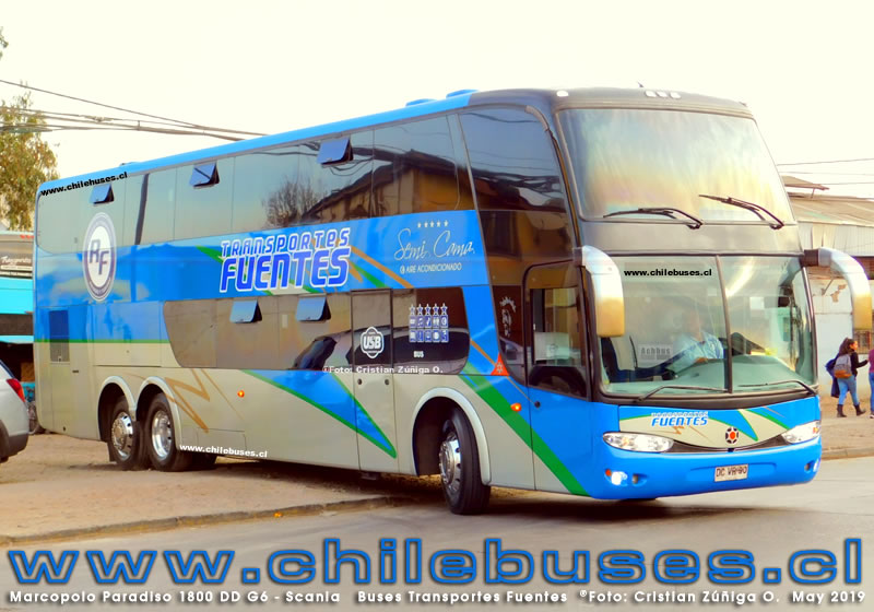 Marcopolo Paradiso 1800 DD G6 - Scania | Buses Transportes Fuentes