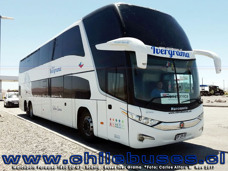 Marcopolo Paradiso 1800 DD G7 - Scania | Buses Iver Grama