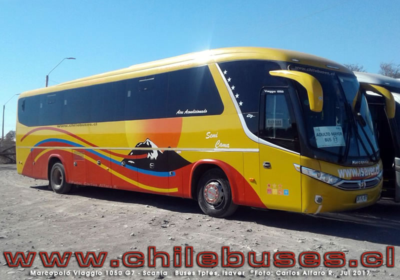 Marcopolo Viaggio 1050 G7 - Scania | Buses Transportes Isaver