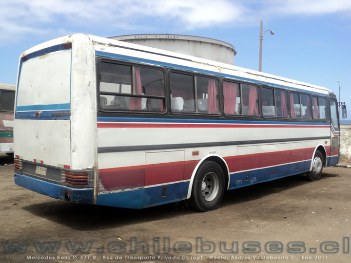 Mercedes Benz O-371 | Bus de Transporte Privado (II reg)