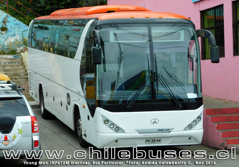 Young Man JNP6120M Starliner | Bus Particular
