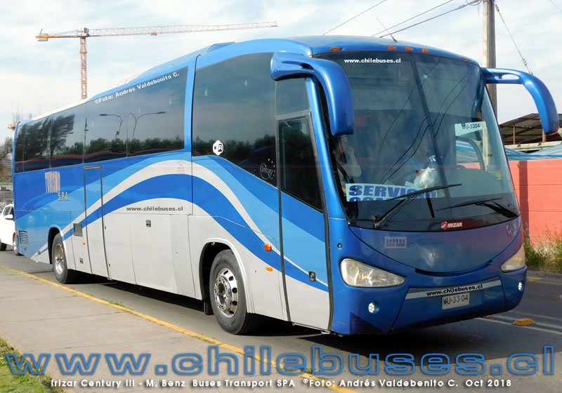 Irizar Century III - M. Benz | Buses Transport SPA