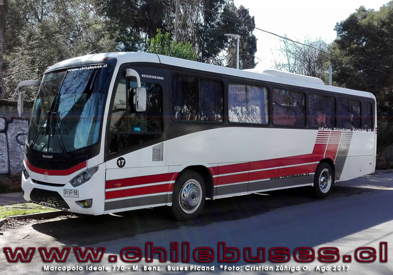 Marcopolo Ideale 770 - M. Benz | Buses Picand
