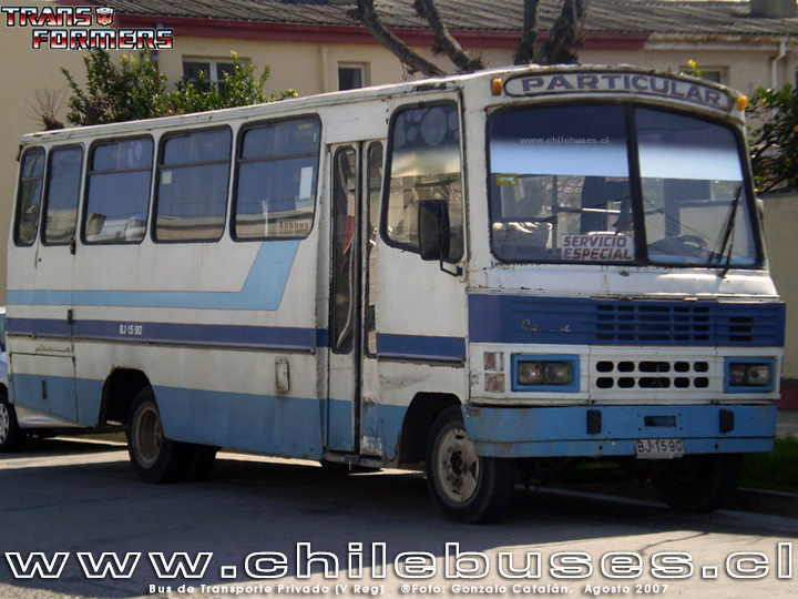 Bus de Transporte Privado (V Reg)