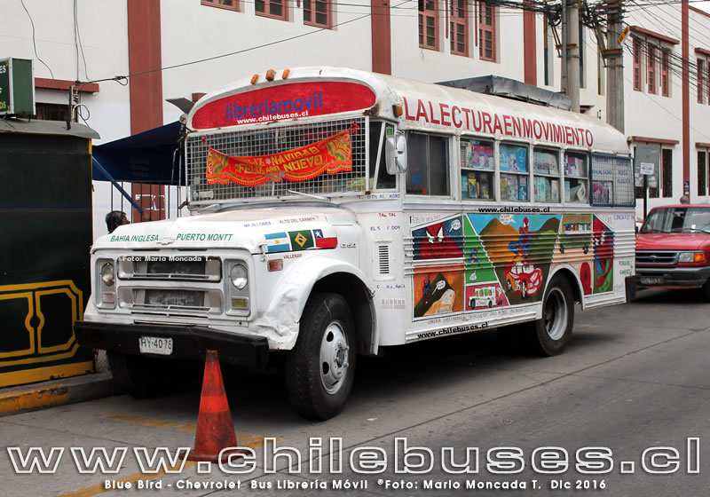 Blue Bird - Chevrolet | Bus Libreria Movil