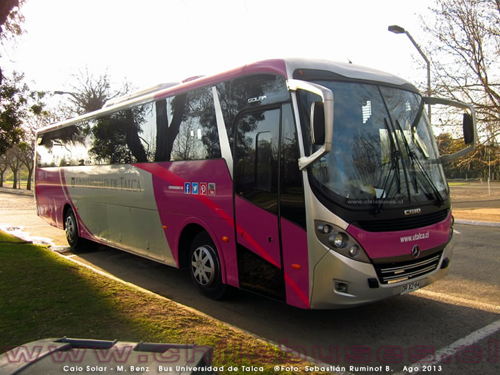 Caio Solar - M. Benz | Bus Universidad de Talca