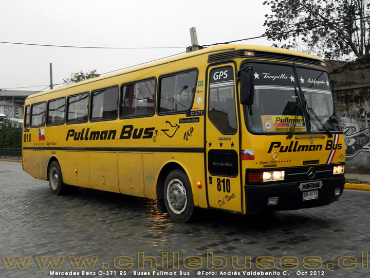 Mercedes Benz O-371 RS | Buses Pullman Bus