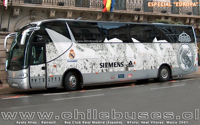 Ayats Atlas - Renault  /  Bus Club Real Madrid (España)