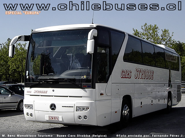 Mercedes Benz Monobloco Tourismo  /  Buses Cars Strobbe (Belgica)