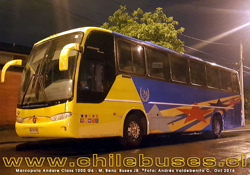 Marcopolo Andare Class 1000 G6 - M. Benz | Buses JB