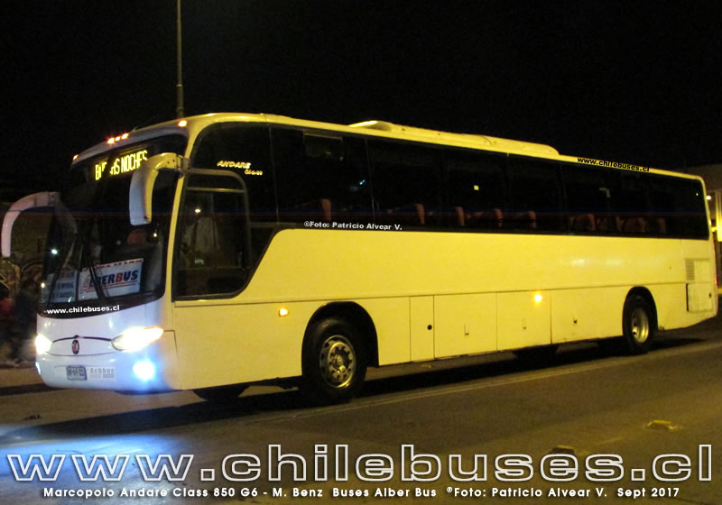 Marcopolo Andare Class 850 G6 - M. Benz | Buses Alber Bus