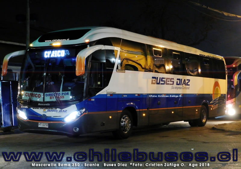 Mascarello Roma 350 - Scania | Buses Diaz