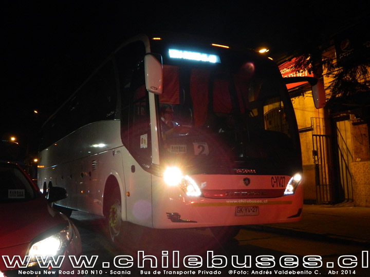 Neobus New Road 380 N10 - Scania | Bus de Transporte Privado
