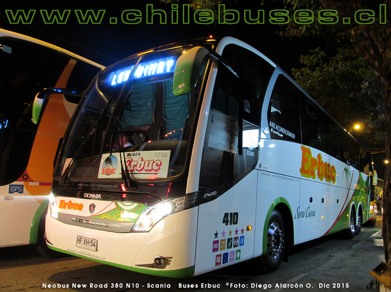Neobus New Road 380 N10 - Scania | Buses Erbuc