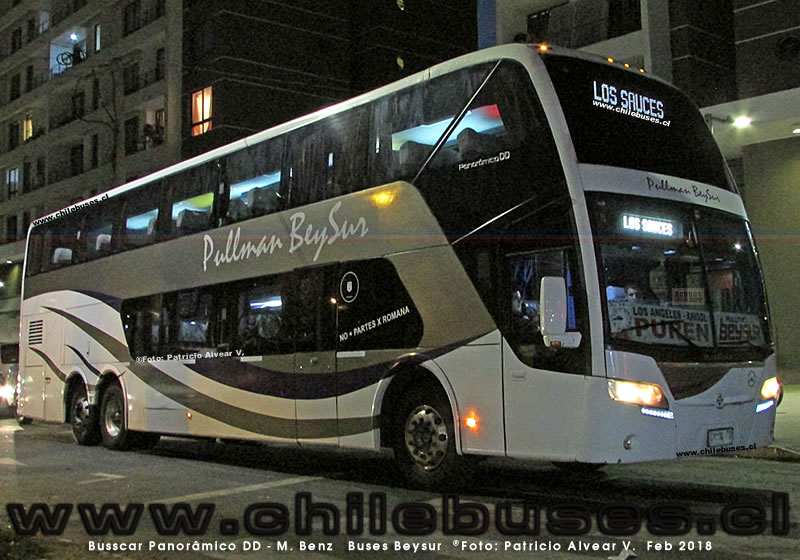Busscar Panoramico DD - M. Benz | Buses Beysur