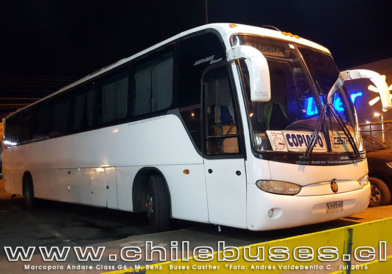 Marcopolo Andare Class G6 - M. Benz | Buses Casther