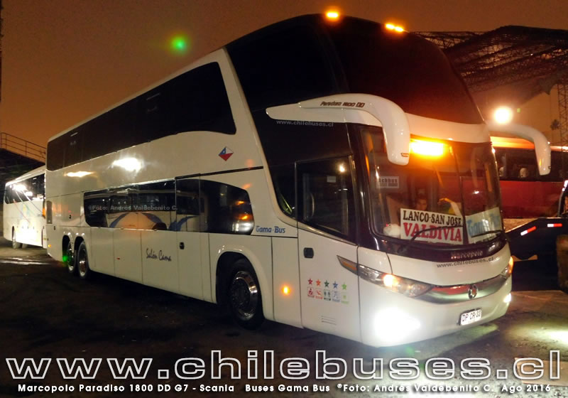 Marcopolo Paradiso 1800 DD G7 - Scania | Buses Gama Bus