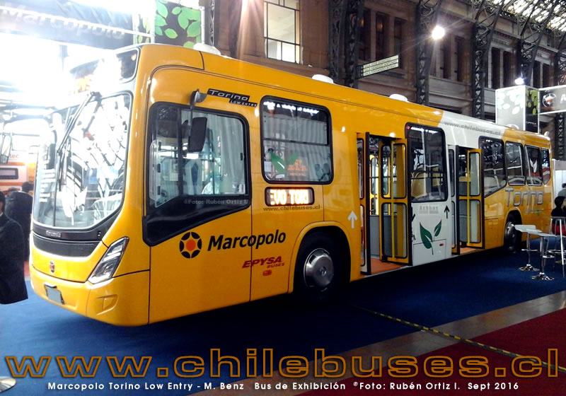Marcopolo Torino Low Entry - M. Benz | Bus de Exhibición