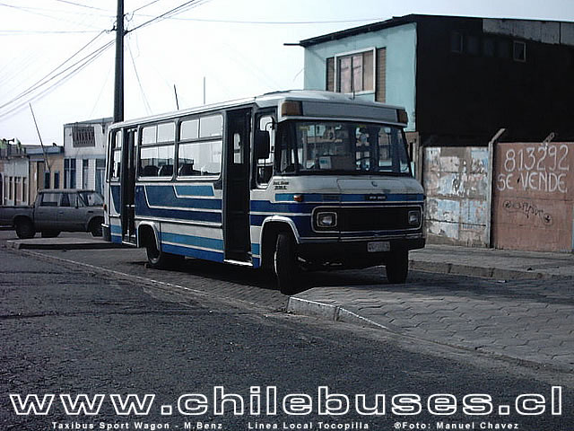 Taxibus Sport Wagon - M.Benz / Linea Local Tocopilla