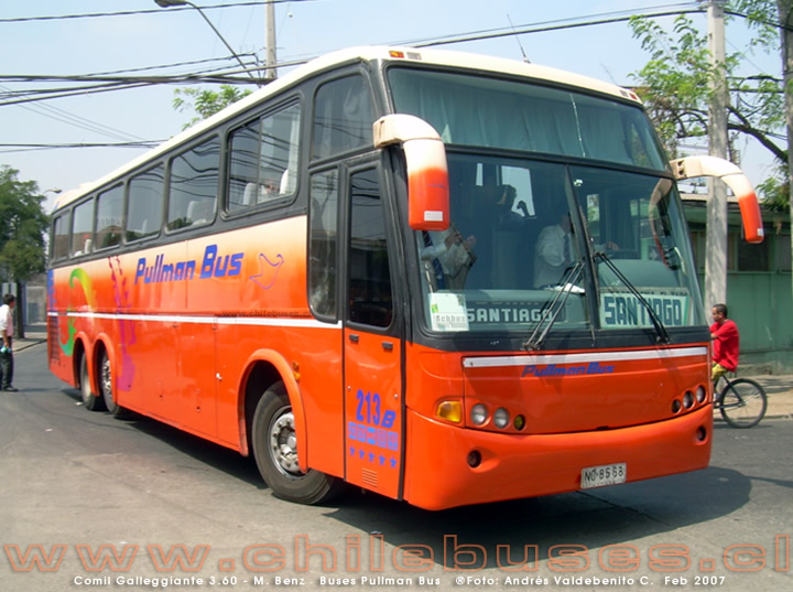 Comil Galleggiante 3.60 - M. Benz | Buses Pullman Bus