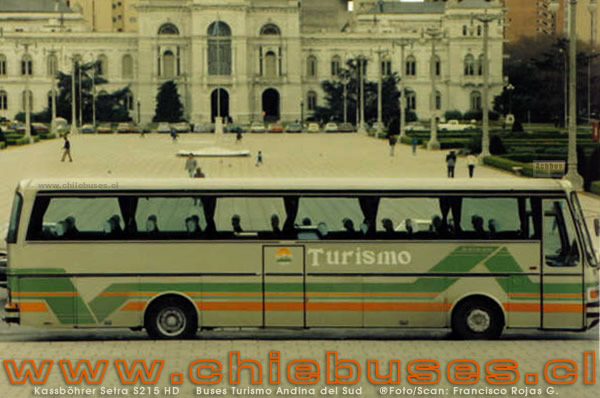 Kassböhrer Setra S215 HD | Buses Turismo Andina del Sud