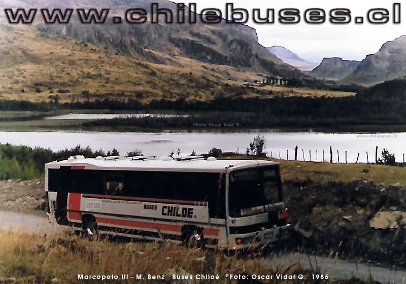 Marcopolo III - M. Benz | Buses Chiloé