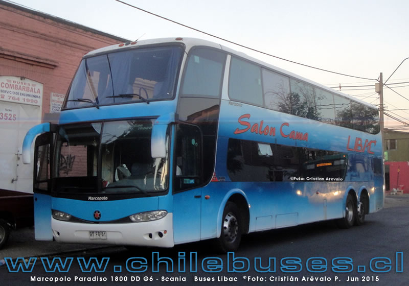 Marcopolo Paradiso 1800 DD G6 - Scania  |  Buses Libac
